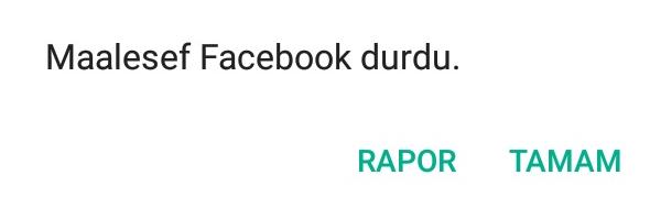 facebook durduruldu ile ilgili görsel sonucu