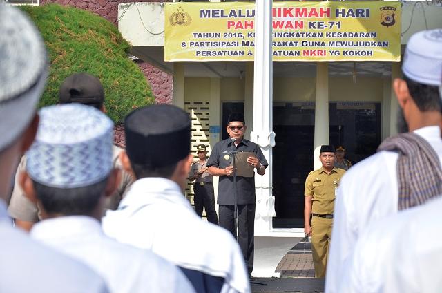 Plt Wali Kota Banda Aceh Pimpin Apel Kebhinekaan Cinta Damai, Ini Pesannya