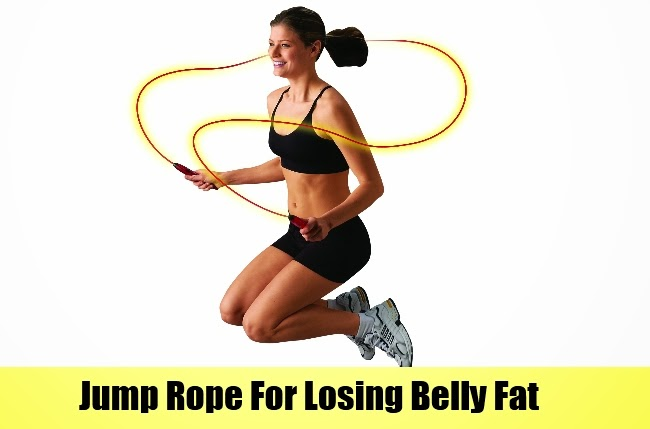 can you lose belly fat by skipping rope