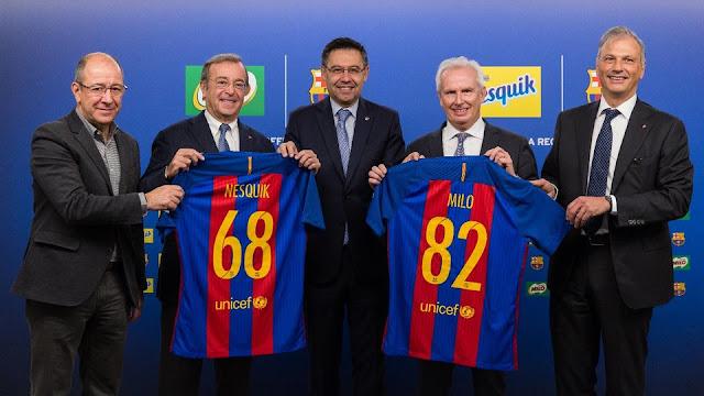 Nestlé Milo, nuevo patrocinador global del Barça