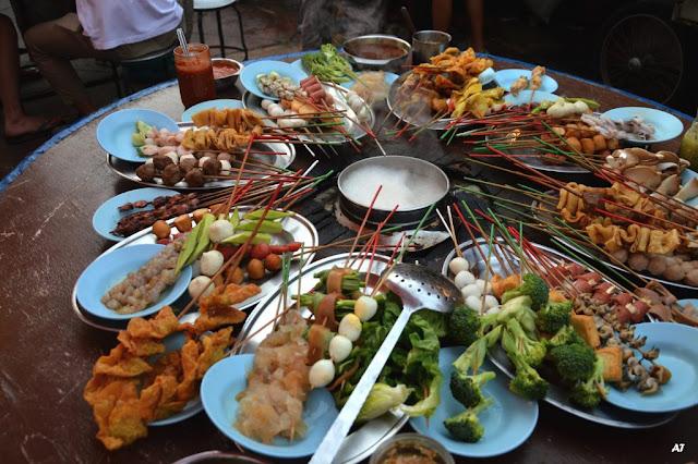 Lẩu nhúng Lok Lok ở Penang