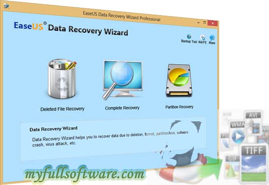 EaseUS Data Recovery Wizard Professional free download full version