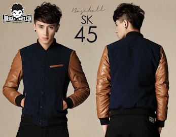 jas exclusive jaket korean style  baseball sk 45