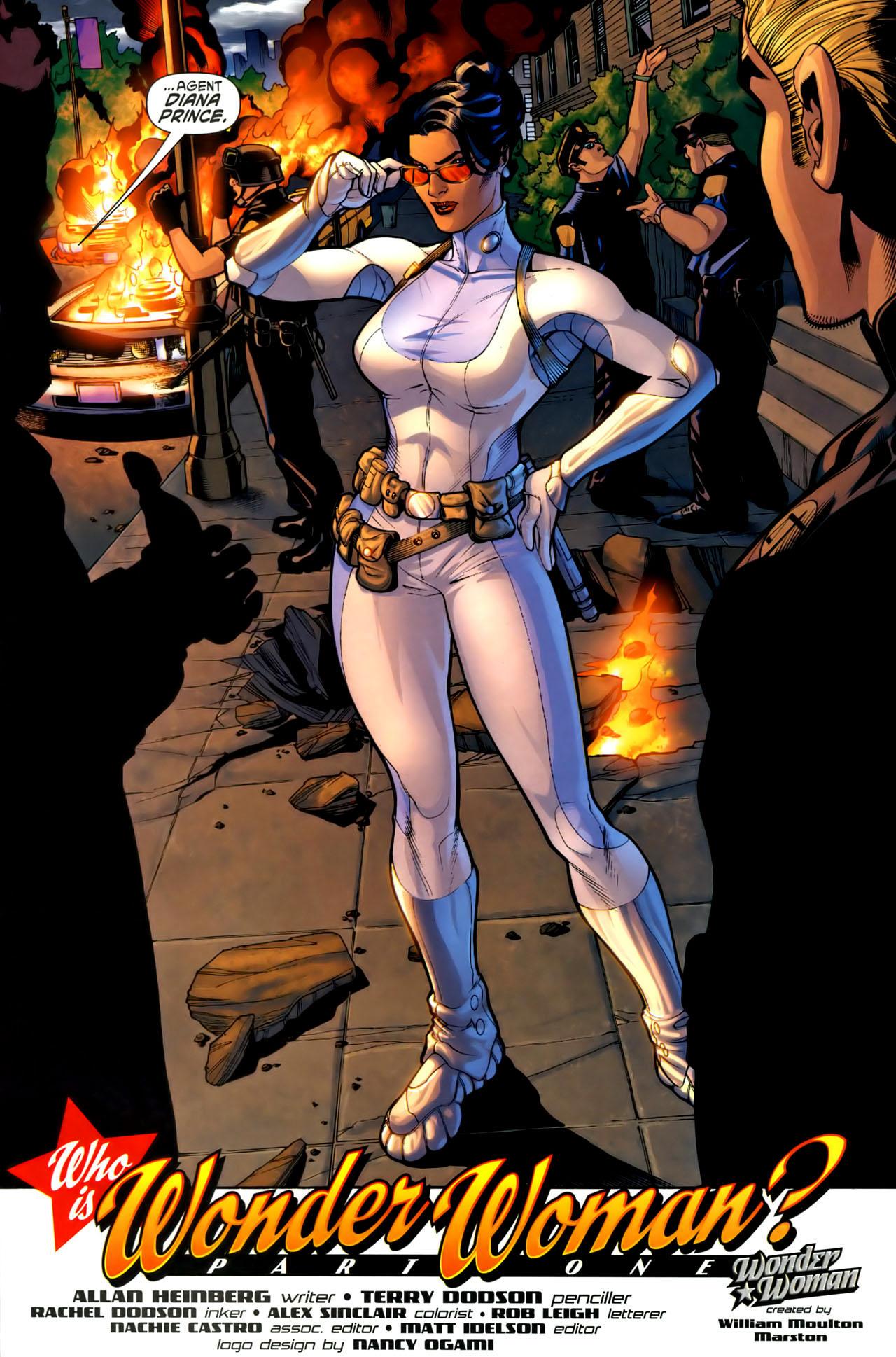 Read online Wonder Woman (2006) comic -  Issue #1 - 23