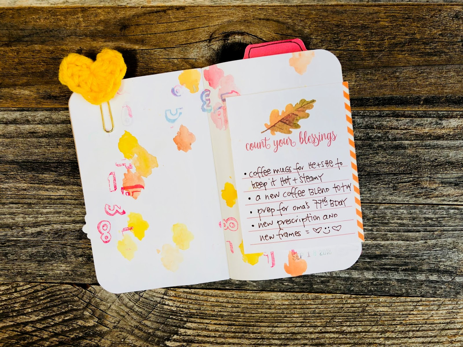 #Gratitude Journal #Grateful #Gratitude #Journal #notebook #Things I Am Thankful For #Thankful  #Mixed Media Journal  #art journaling #Junk Journal
