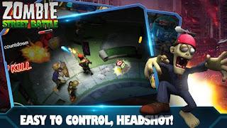 Zombie Street Battle Mod
