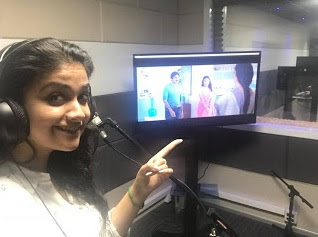 Dubbing for the first time in Telugu anndddd finished successfully Now I feel complete PSPK25 TrivikramSrinivas Haarika Hassine Creations