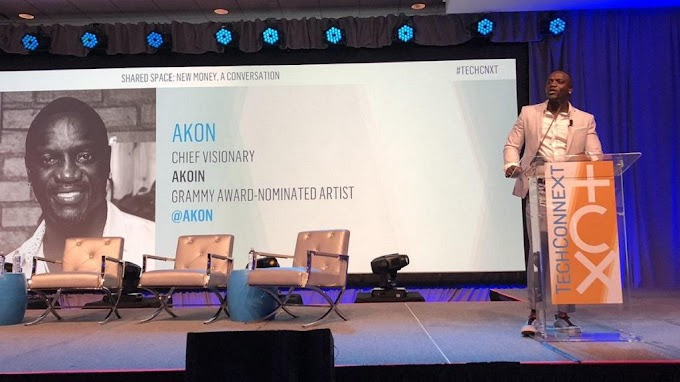 Akon's Akoin wins him 'Innovator Of The Year' award