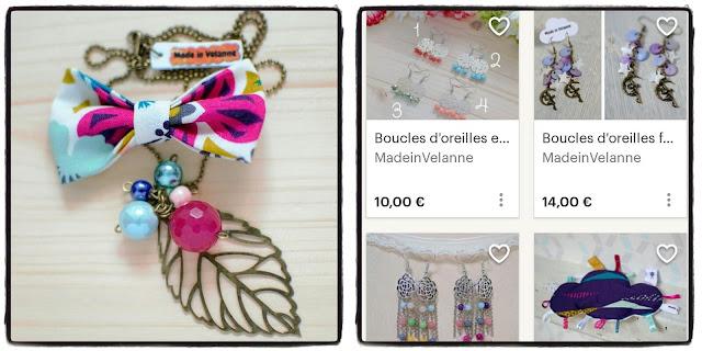 joli bijou et tenir une boutique créative