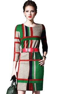 Desain dan model baju meriah penuh warna trend fashion 2017
