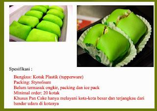 Pancake Durian, Oleh-oleh khas Medan