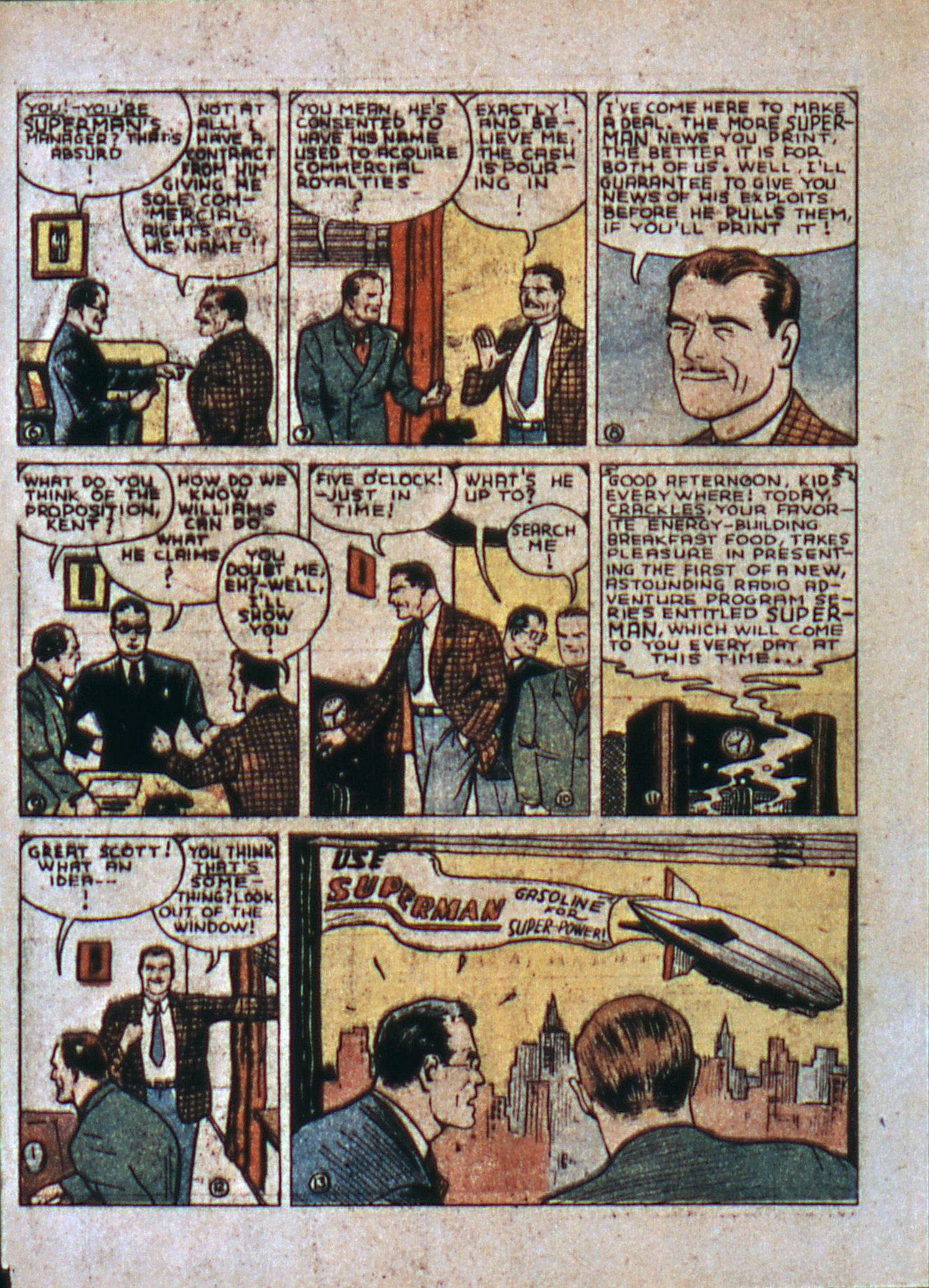 Read online Action Comics (1938) comic -  Issue #6 - 5