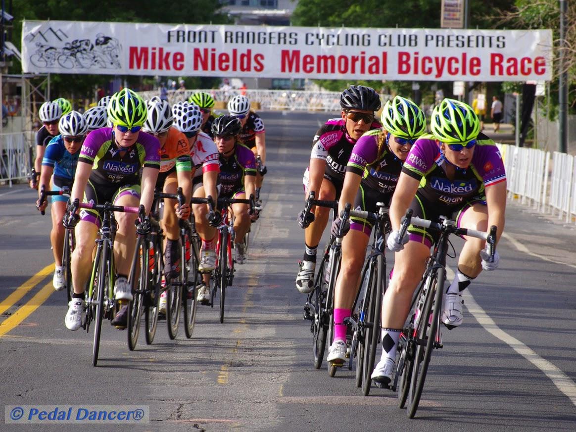Women Bike Racers Bannock Street Crit - Pedal Dancer