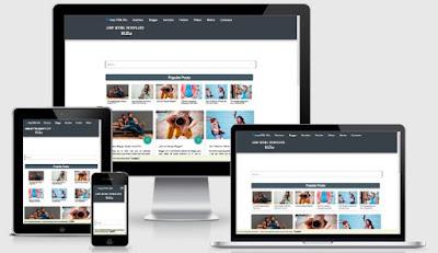 AMP Kilo Blogger Template - Instan Blogging