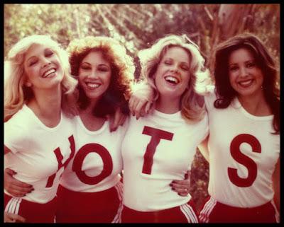 "Susan Kiger, Lisa London, Pamela Jean Bryant, and Kimberly Cameron star as the ""titular"" H.O.T.S."