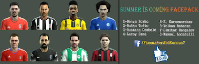 Facepack Summer Pes 2013 By AbdKursun7