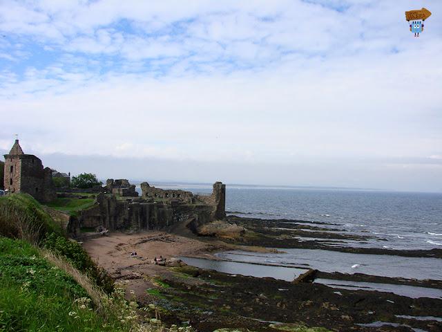 Castillo en St. Andrews