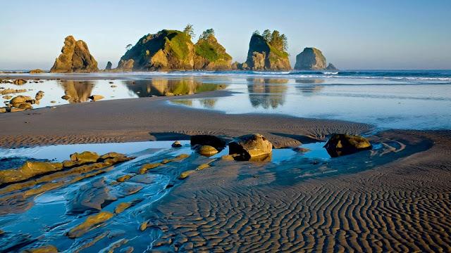 Parque Nacional Pacific Rim no Canadá