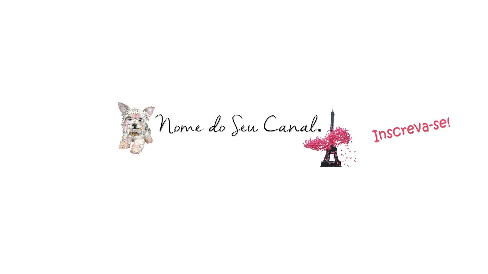 Capa De Youtube 2048x1152: Jacqueline Rodrigues: Capas Para Canais Femininos Grátis