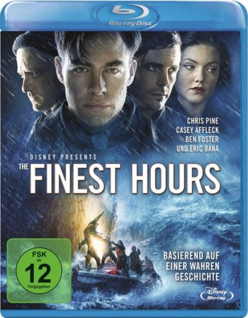 The Finest Hours (2016) Dual Audio 720p