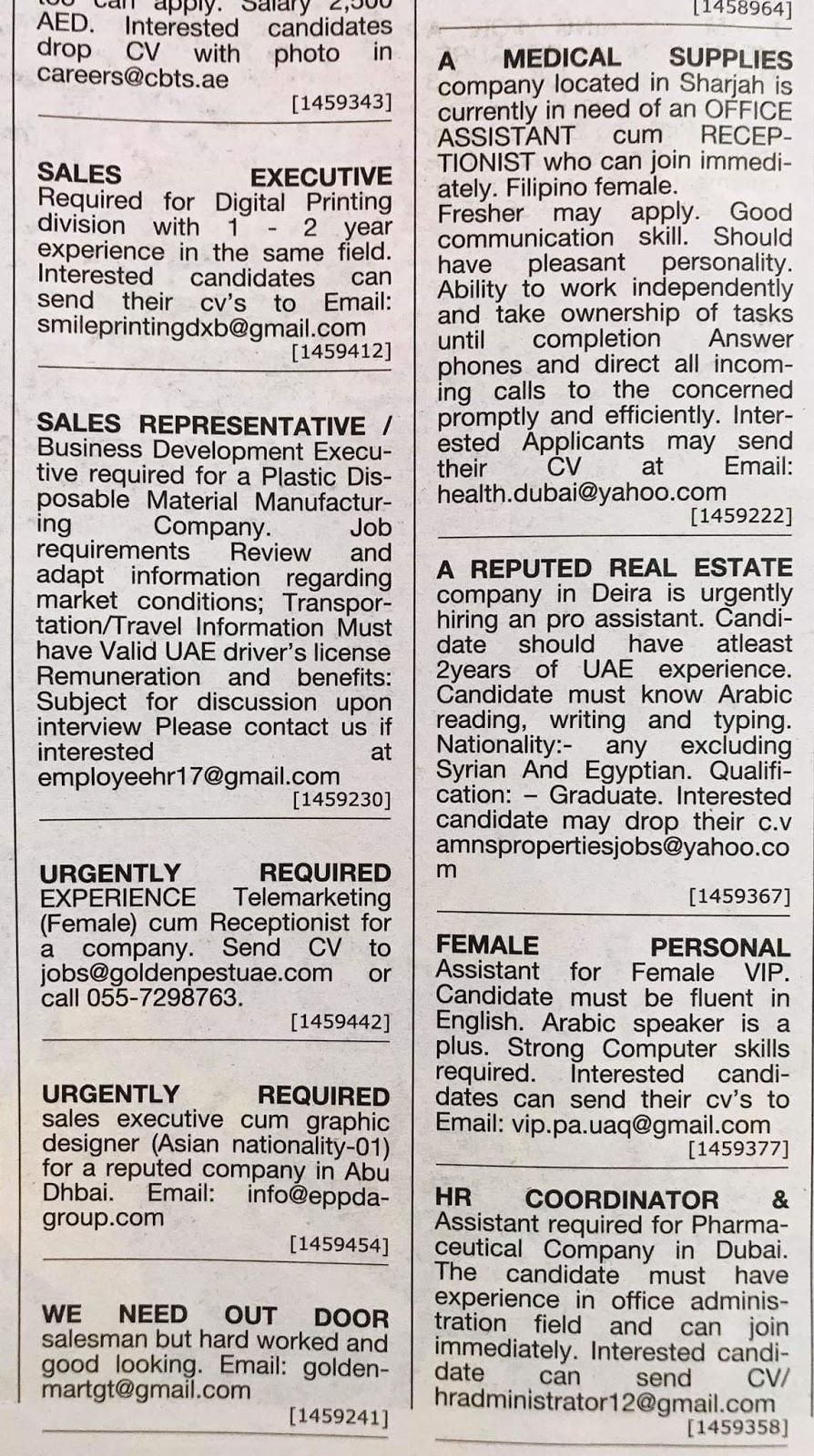 Jobs in Dubai Local Hiring Jobs Khaleej Times-UAE-1911114