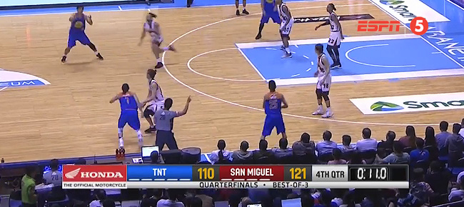 San Miguel def. TNT, 121-110 (REPLAY VIDEO) July 9 / QF Game 1