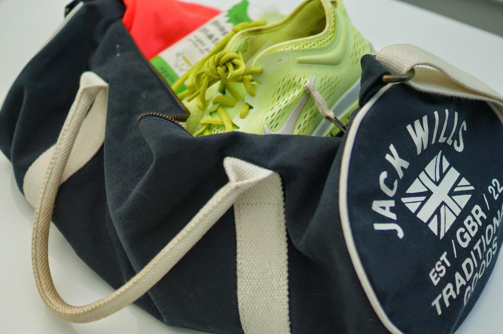 jack wills gym bag