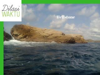 Hell stone : sebuah pulau tanpa kehidupan diindonesia