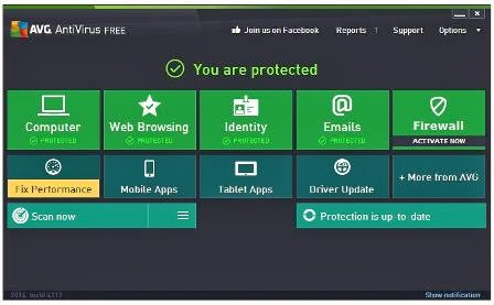 Free AVG Internet security 2014