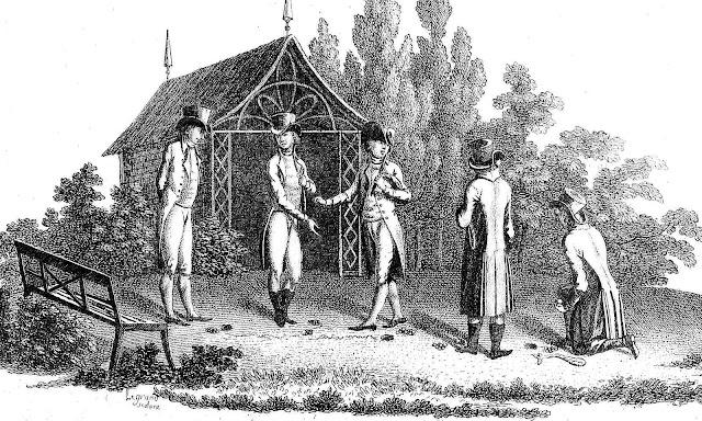 1806 marbles gambling illustration