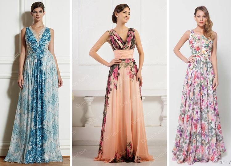 Dicas para escolher vestidos longos para dias de calor