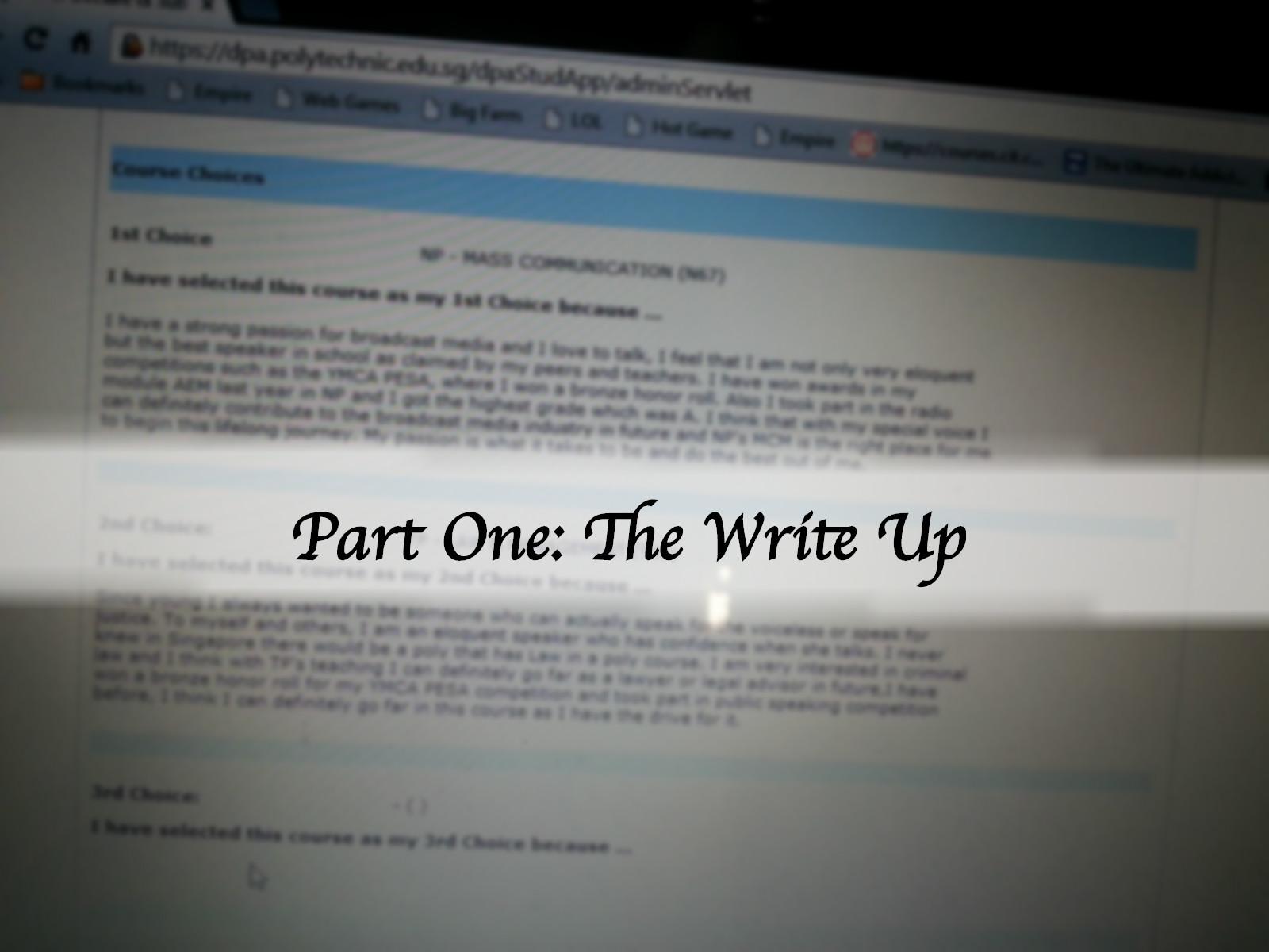 poly dpa essay