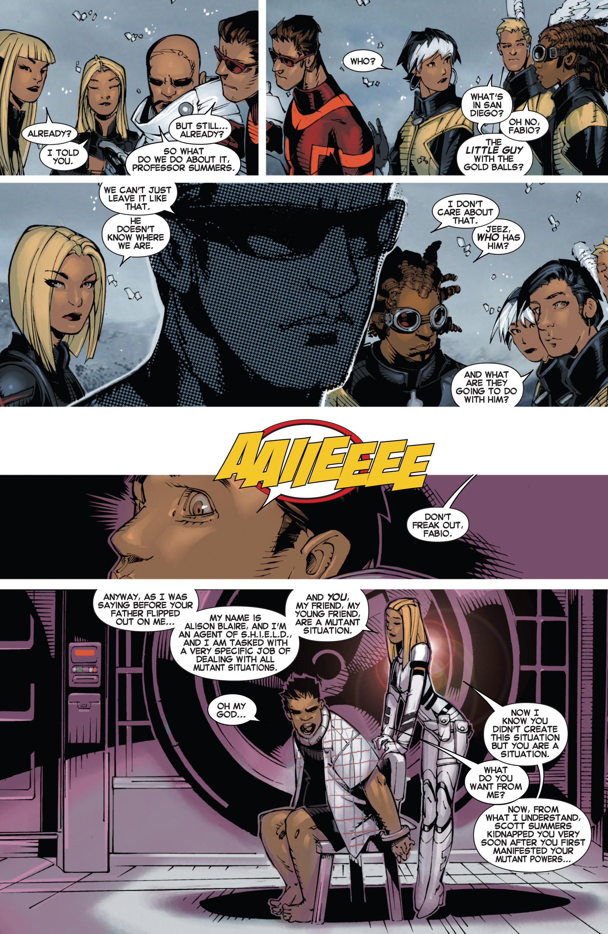 Read online Uncanny X-Men (2013) comic -  Issue #9 - 9