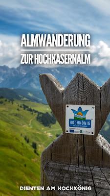 Almwanderung zur Hochkaseralm | Wandern Hochkönig | Wanderung SalzburgerLand