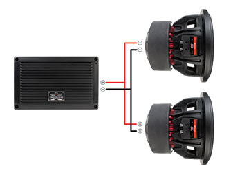 How To Connect Two Subwoofers To a Monoblock Car Amplifer  How To Install Car Audio Systems