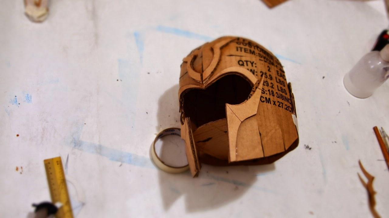 Cardboard Knight Helmet Template Bcca