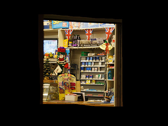 local shop, street photography, window scene, contemporary, art, Sam Freek,