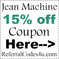 JeanMachine.com Coupon Code 2017, Jean Machine Promo Code January, February, March