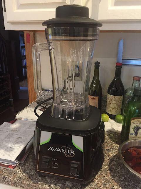 The Avamix blender I bought on Webstaurantstore.com
