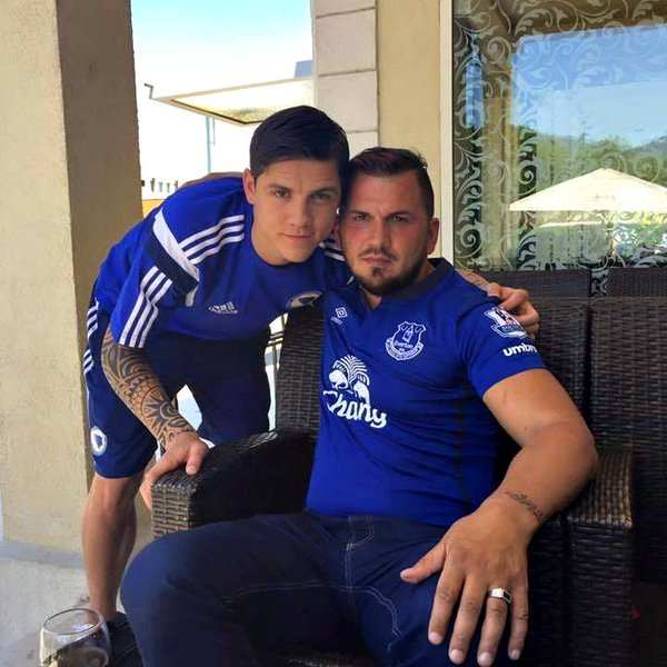 Muhamed Besic dan Ayah