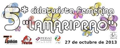 V Cicloturista femenina LaMariprao: 27 Octubre 2013