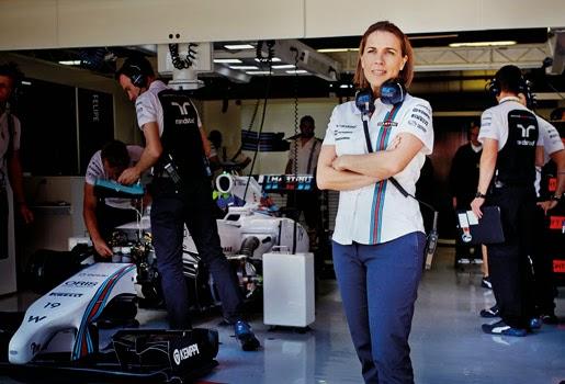La dama de la Fórmula 1  22b596fe443