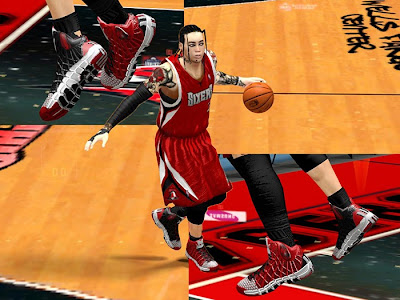 NBA 2K13 Fictional Nike & Adidas Shoes Mods