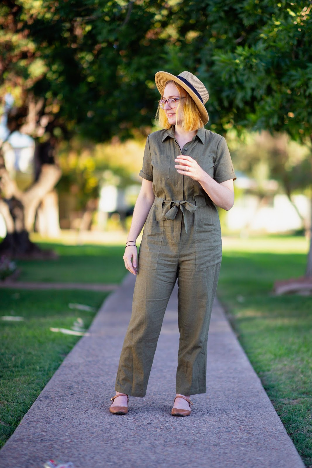 Target - #targetstyle - army green coveralls, boat hat - Phoenix Blogger littleladylittlecity.com
