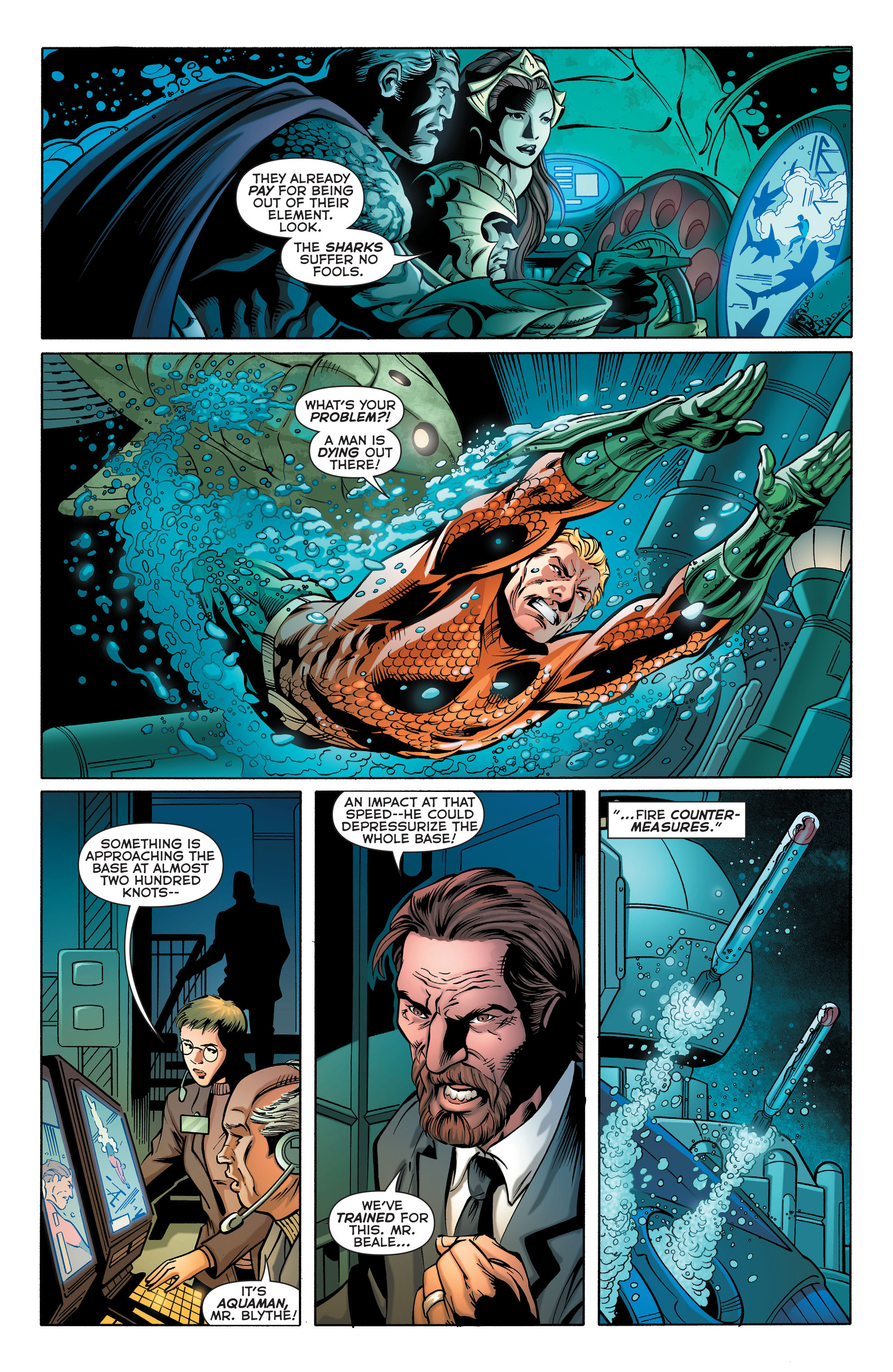 Read online Aquaman (2011) comic -  Issue #28 - 4
