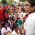 लखनऊ - संविदा नर्सो का जबरदस्त प्रदर्शन जारी, मुख्यमंत्री से वार्ता बेनतीजा