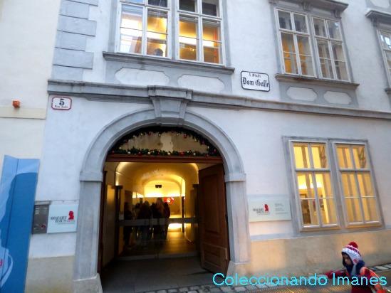 Casa de Mozart - visitar Viena en 3 días