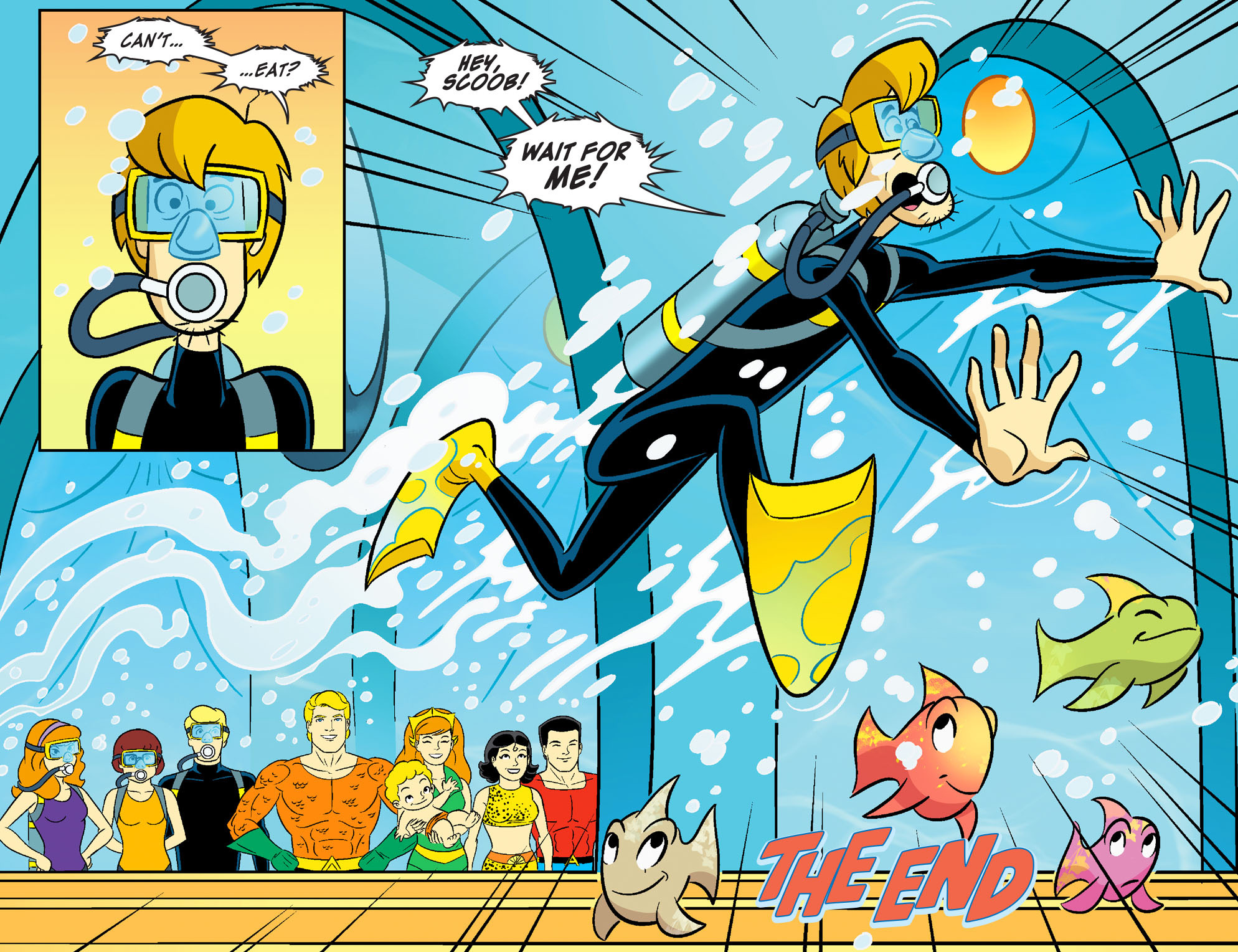Read online Scooby-Doo! Team-Up comic -  Issue #28 - 23