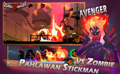 Zombie Avengers Stickman War Z