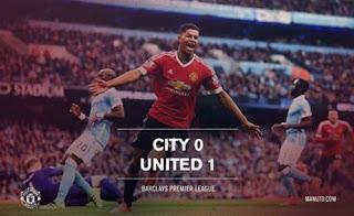 Manchester City vs Manchester United 0-1 Goal & Full Highlights Video